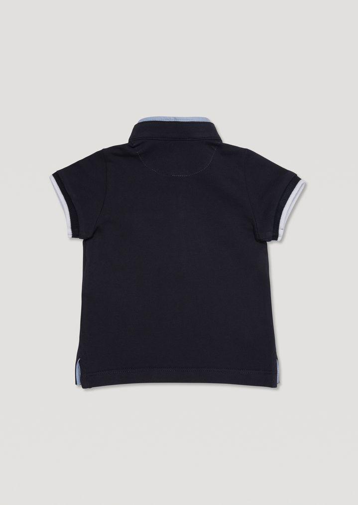 6f15592db2 EMPORIO ARMANI Polo shirt with mandarin collar Polo Shirt Man r