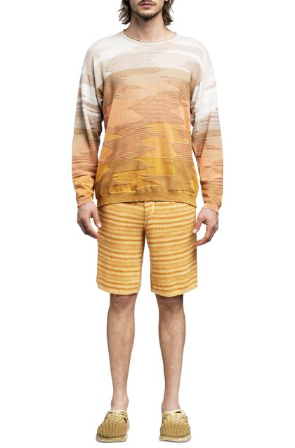 MISSONI Crew-neck Sand Man - Back