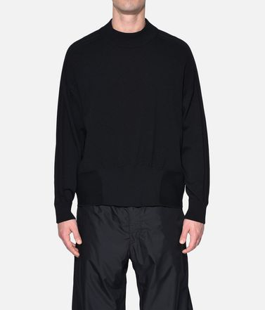 Y-3 Long sleeve jumper Man Y-3 Tech Wool Sweater r