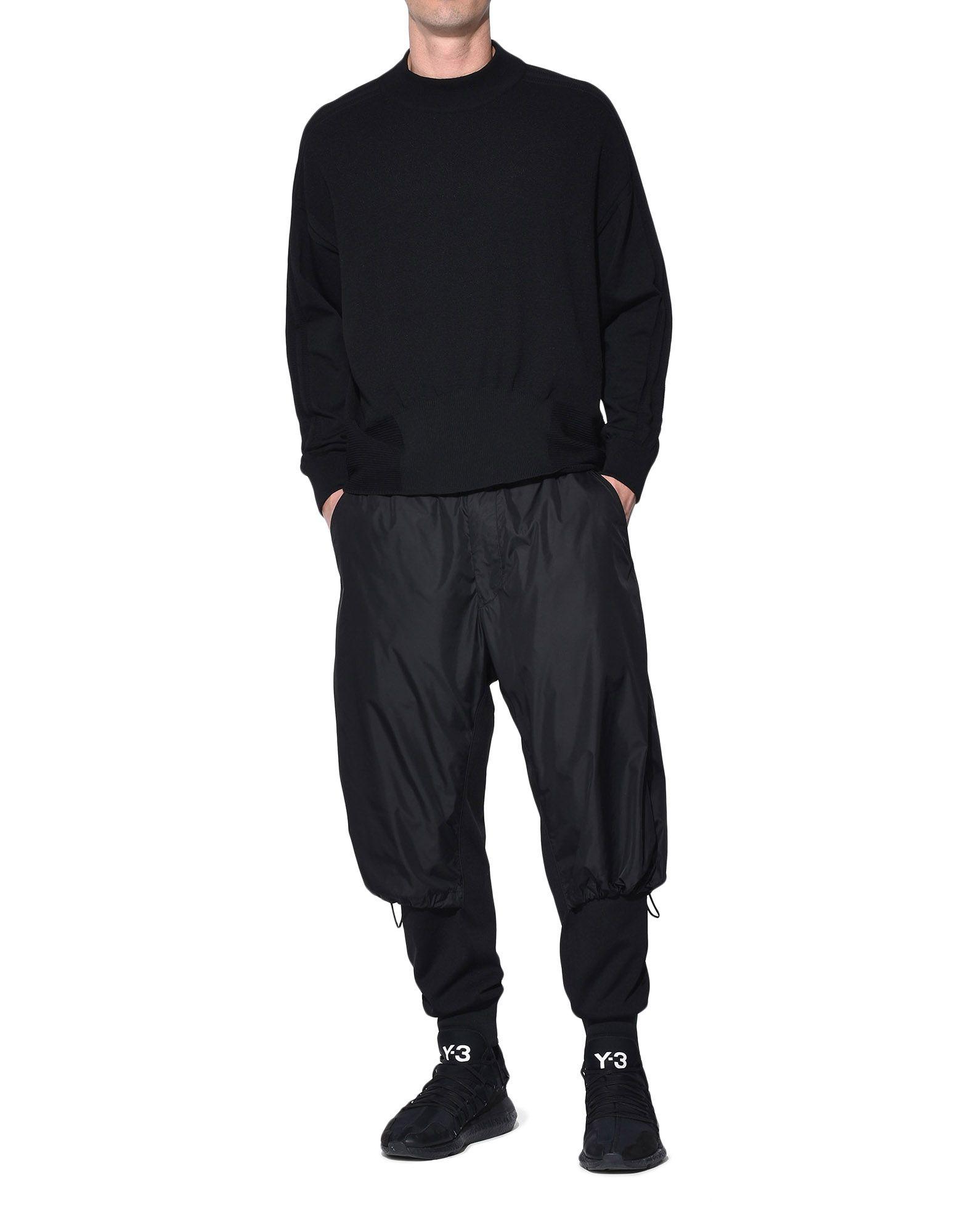 Y-3 Y-3 Tech Wool Sweater Long sleeve jumper Man a