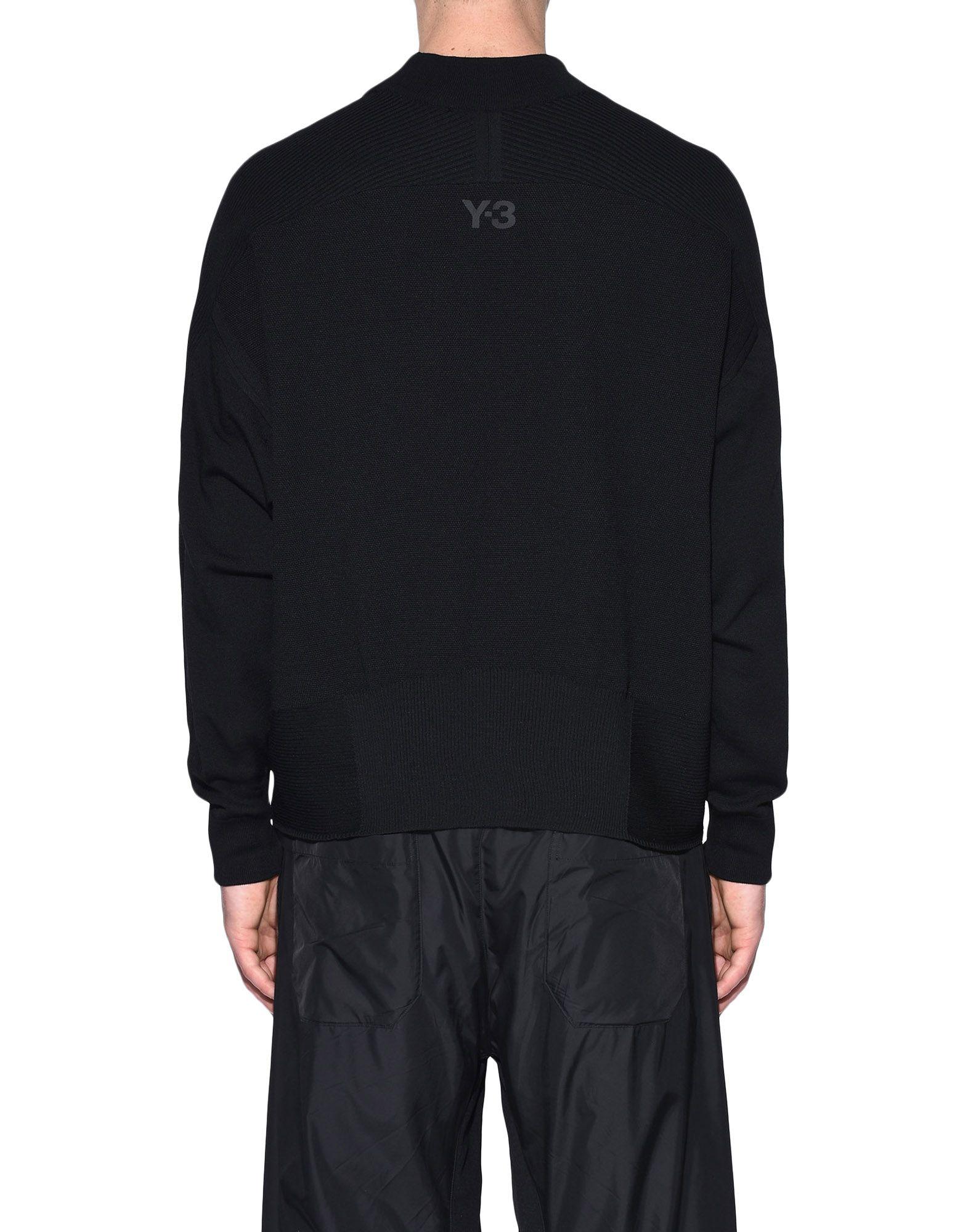 Y-3 Y-3 Tech Wool Sweater Long sleeve jumper Man d