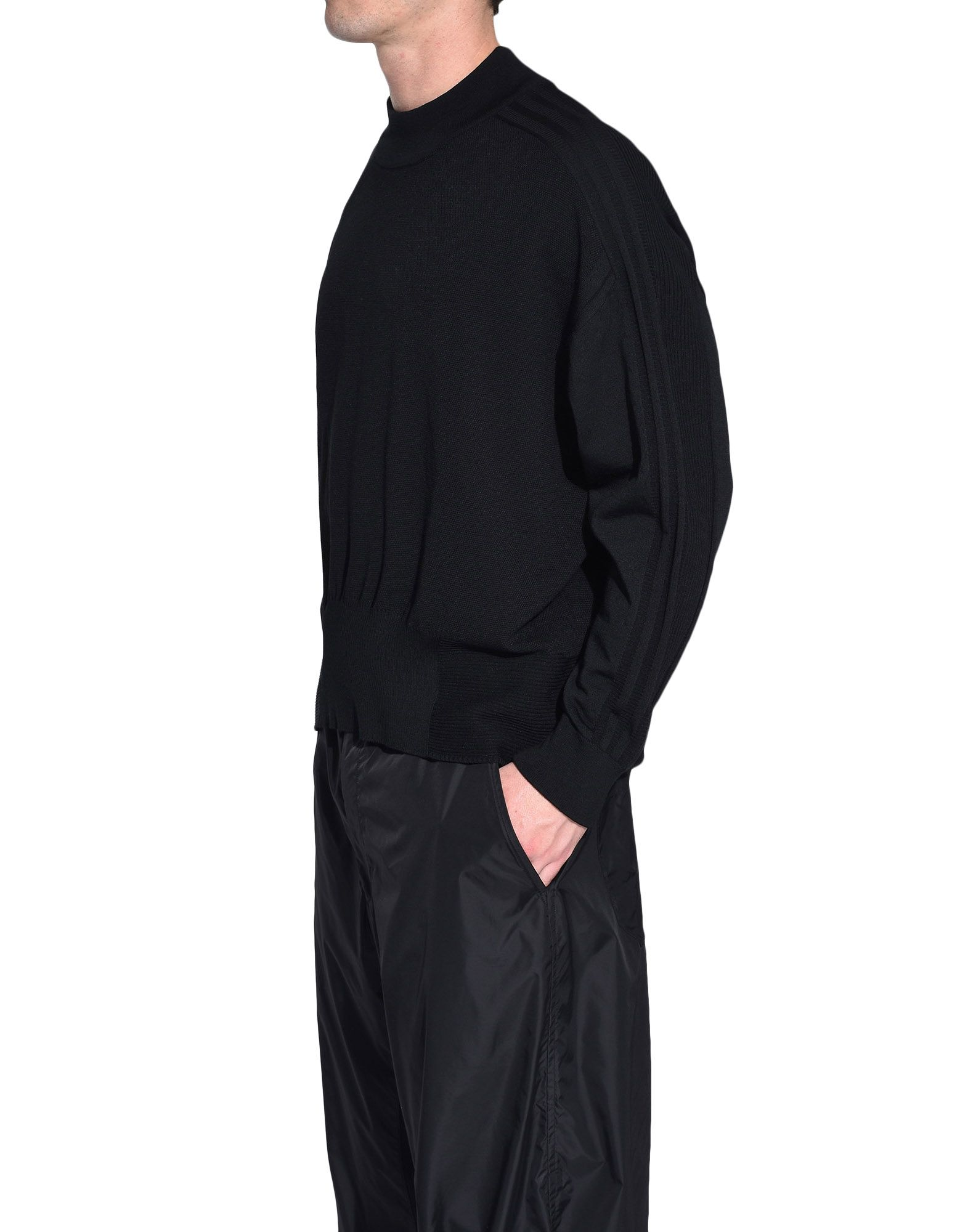 Y-3 Y-3 Tech Wool Sweater Langarmpulli Herren e