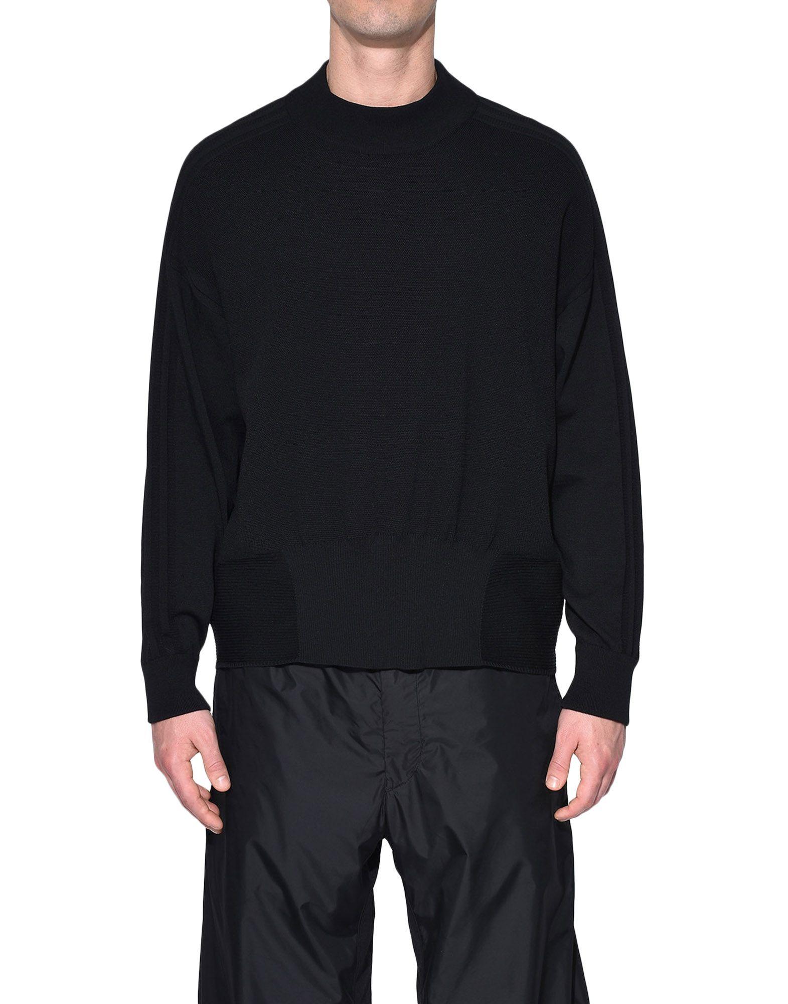 Y-3 Y-3 Tech Wool Sweater Long sleeve jumper Man r