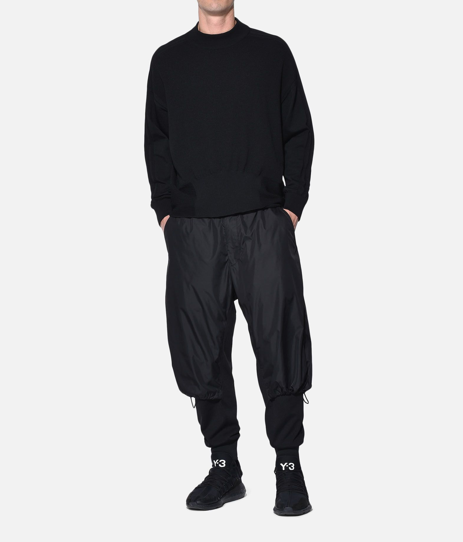 Y-3 Y-3 Tech Wool Sweater Long sleeve jumper Man a