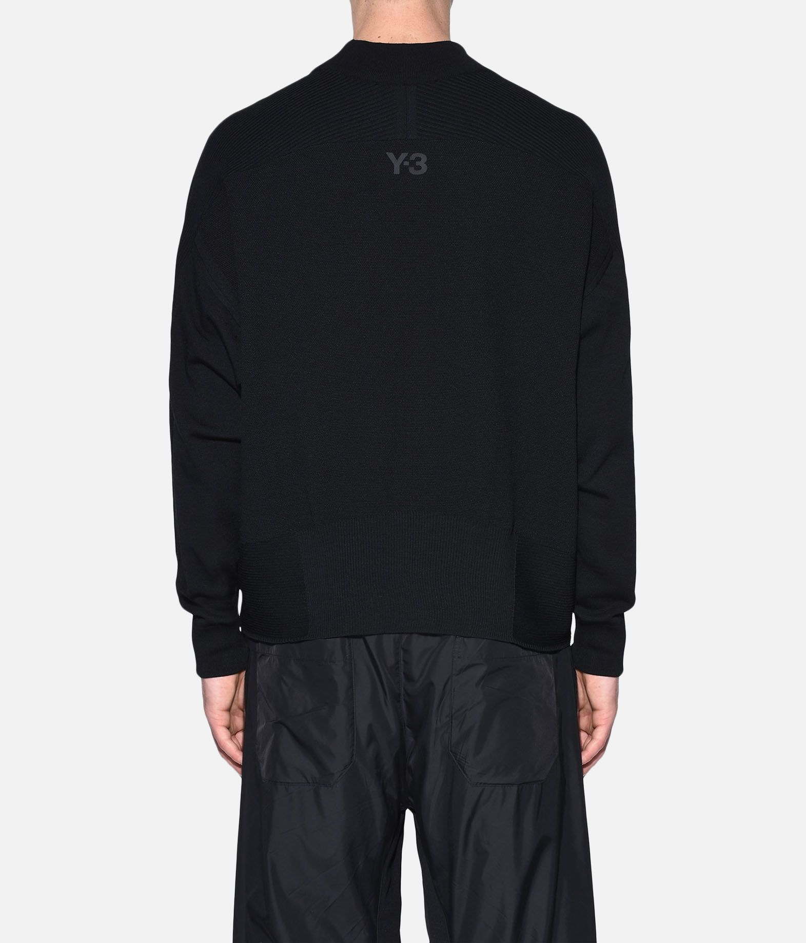 Y-3 Y-3 Tech Wool Sweater Long sleeve jumper Man d