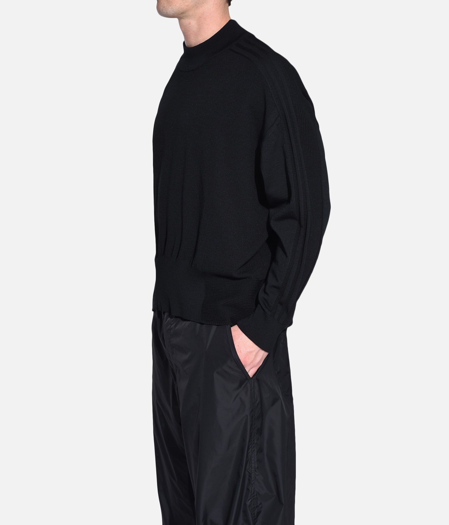 Y-3 Y-3 Tech Wool Sweater Long sleeve jumper Man e