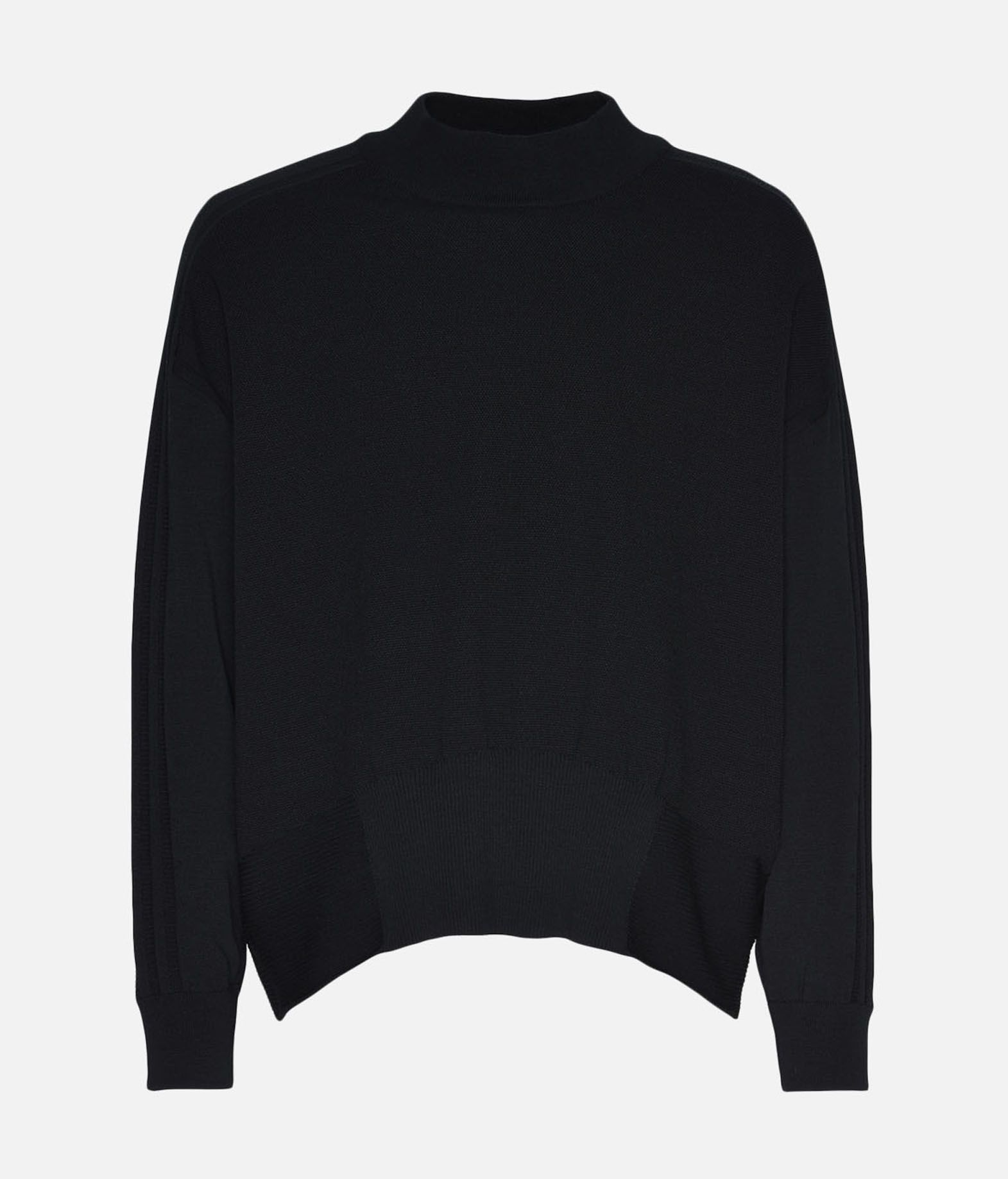 Y-3 Y-3 Tech Wool Sweater Long sleeve jumper Man f