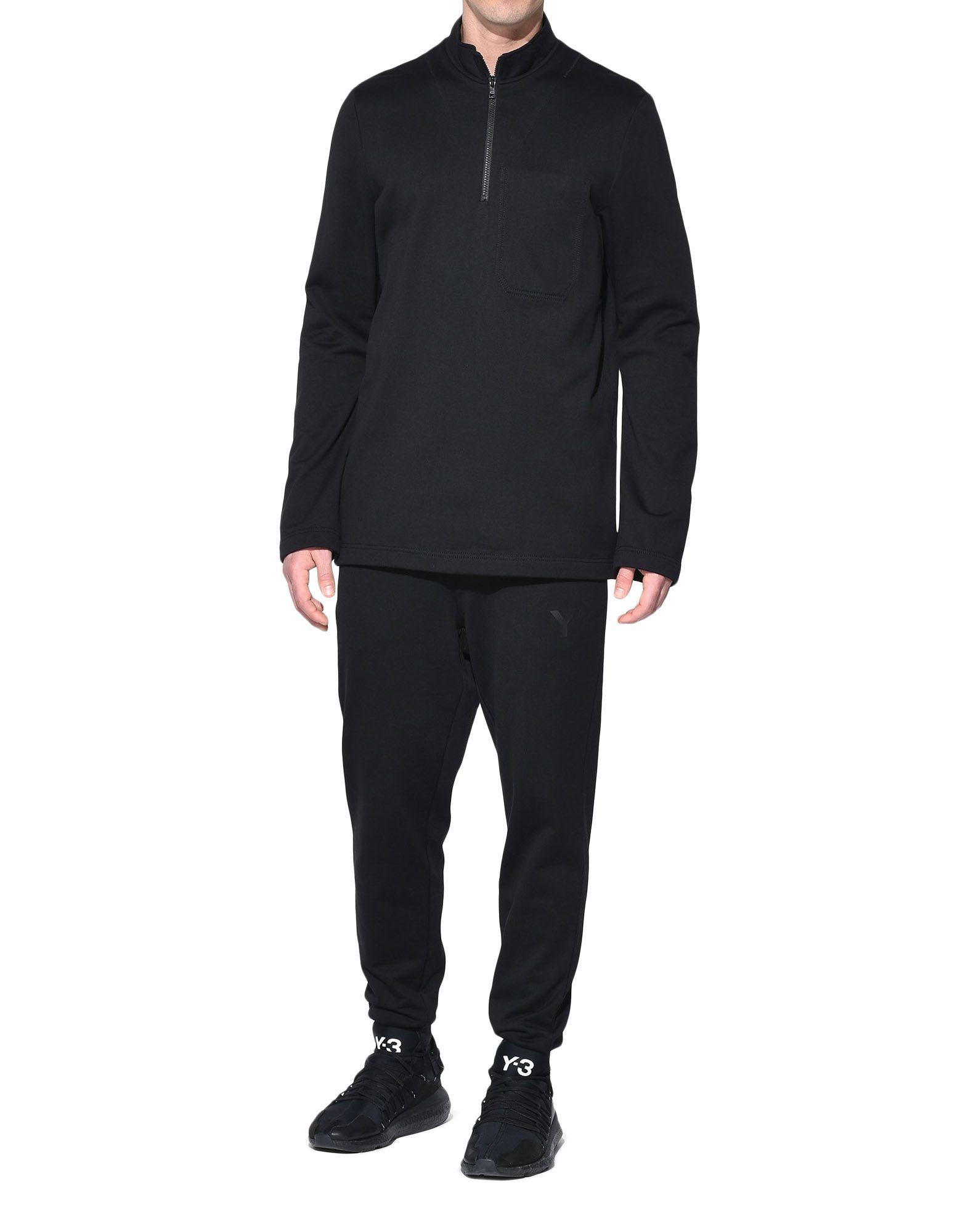 Y-3 Y-3 Sashiko Sweater Sweatshirt mit Zipp Herren a