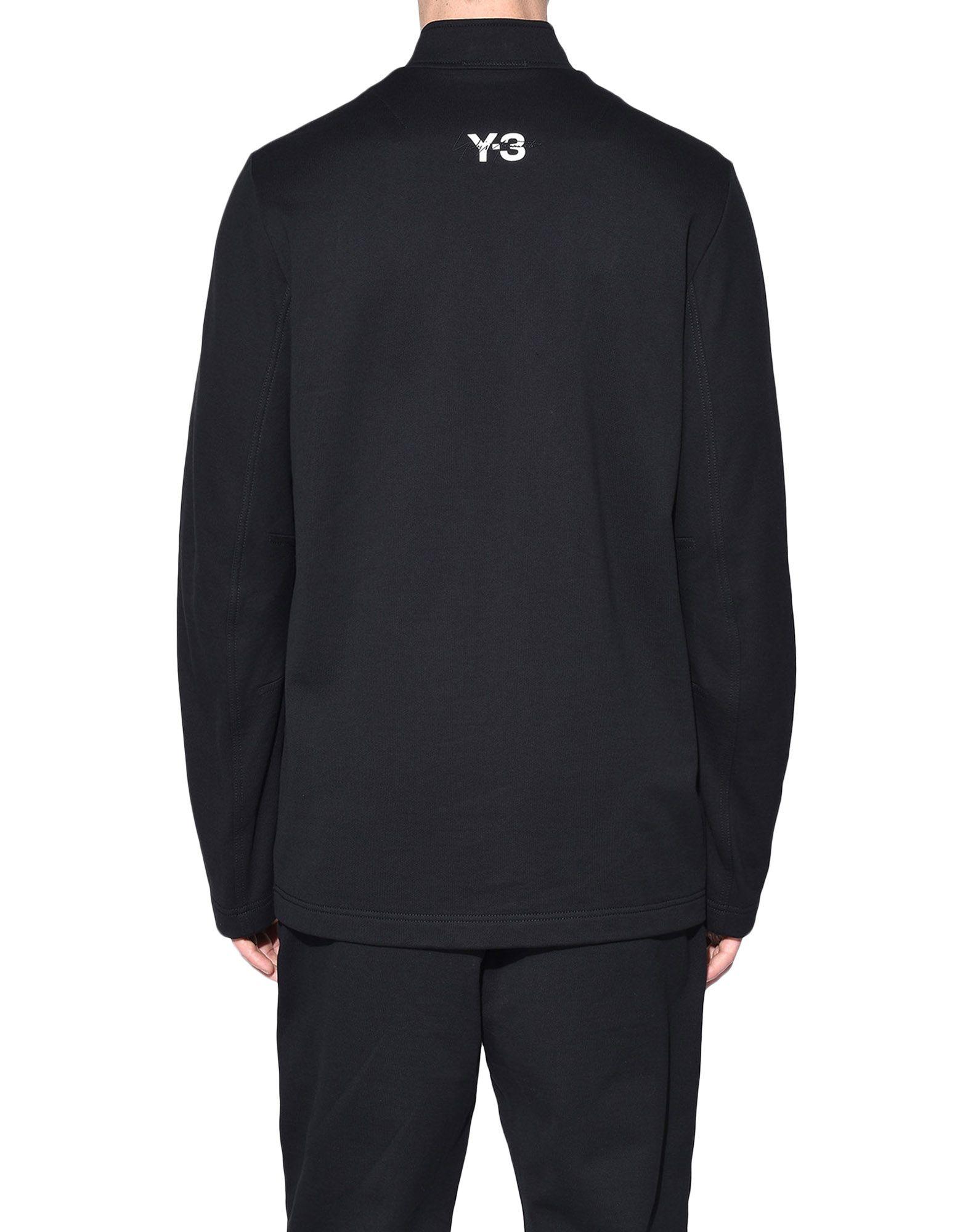 Y-3 Y-3 Sashiko Sweater Sweatshirt mit Zipp Herren d