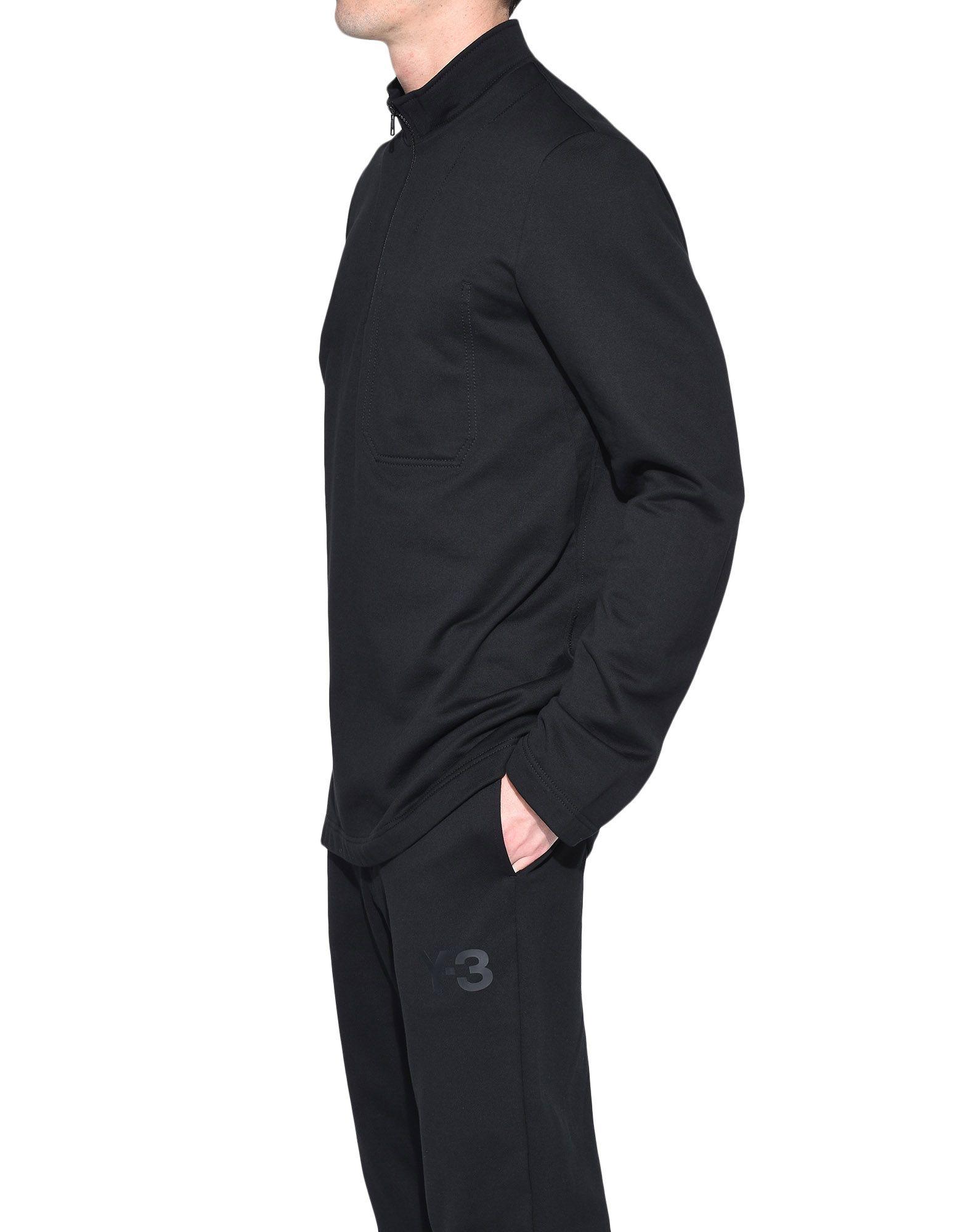 Y-3 Y-3 Sashiko Sweater Sweatshirt mit Zipp Herren e