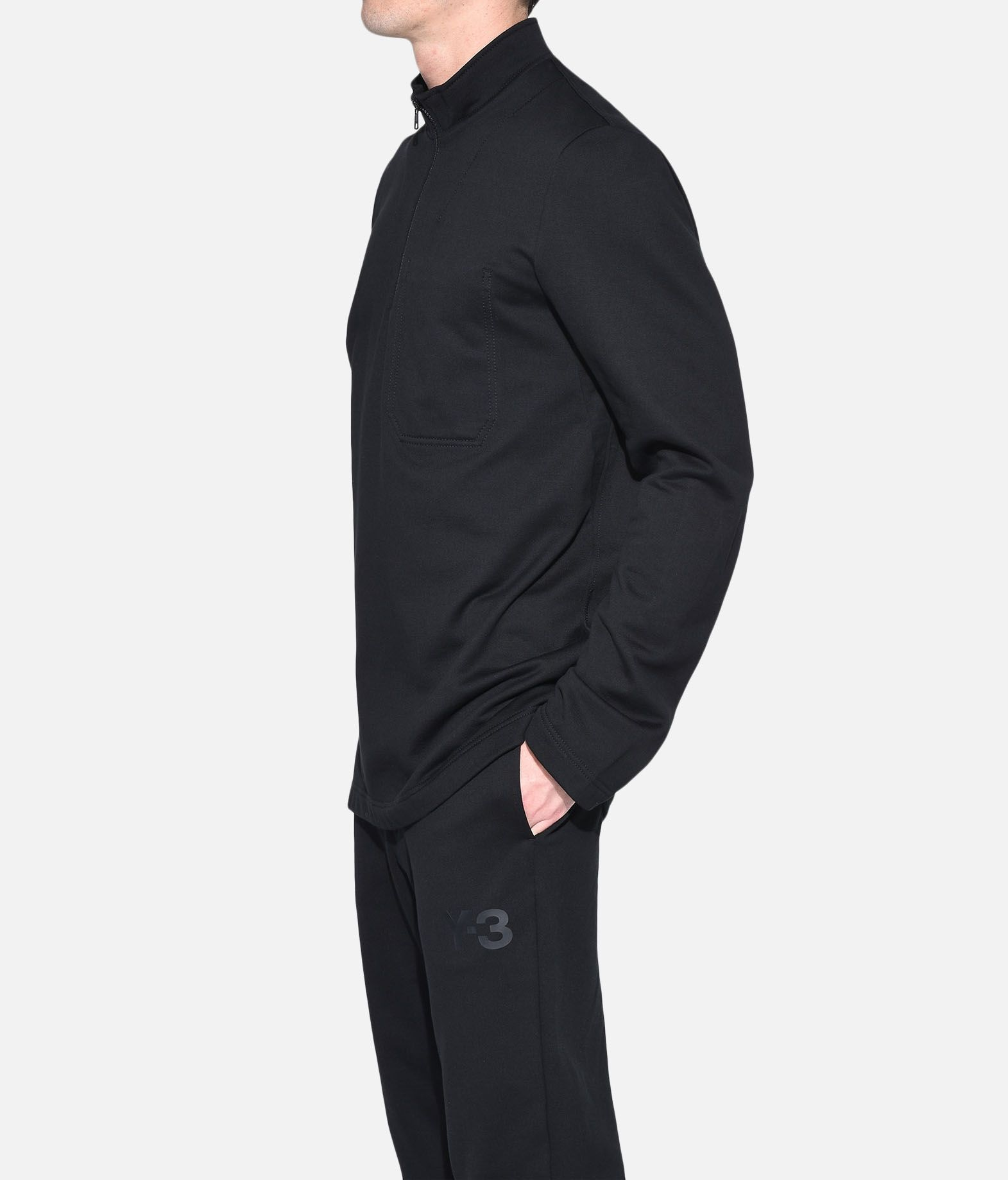 Y-3 Y-3 Sashiko Sweater Zipped jumper Man e