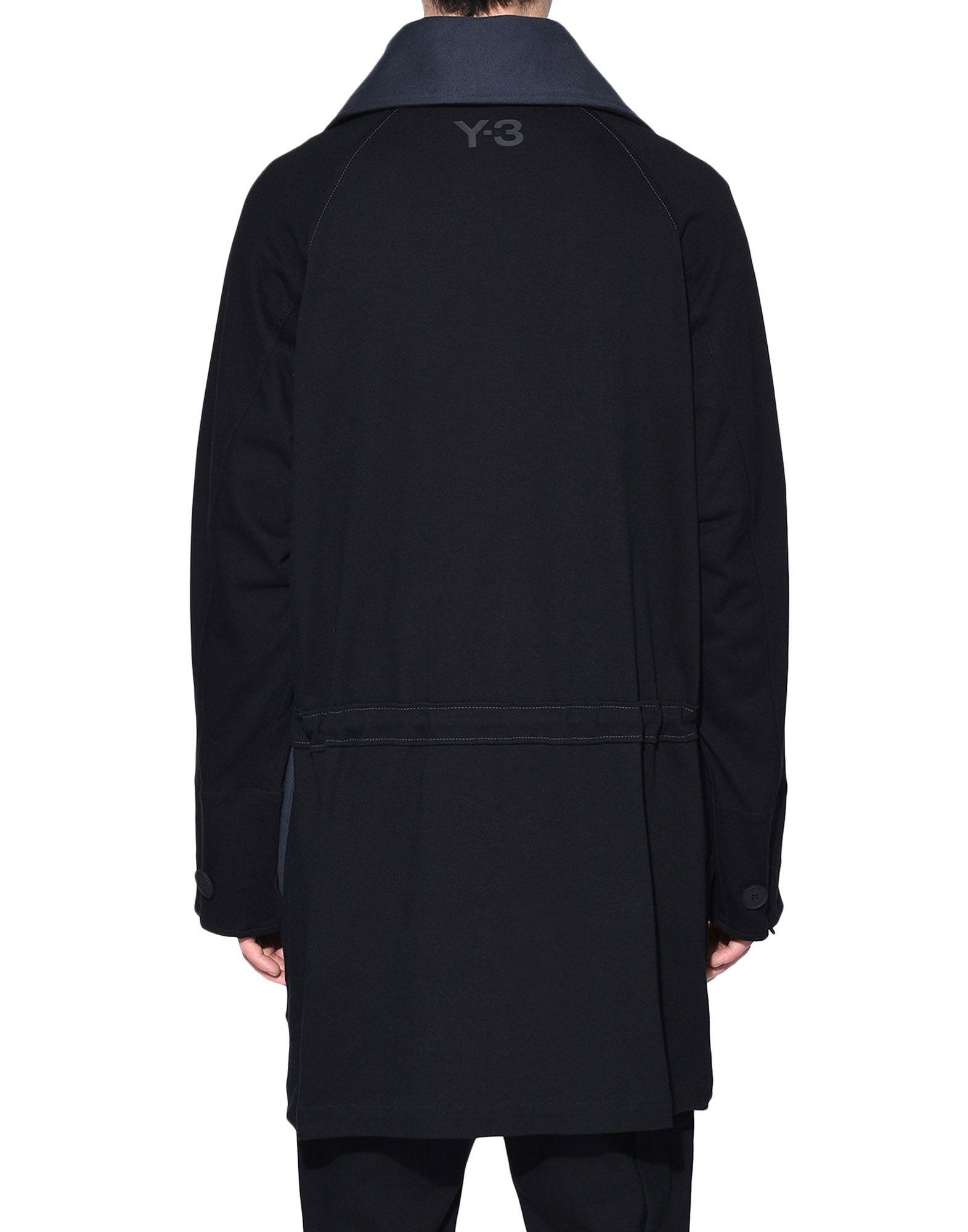 Y-3 Y-3 Long Utility Sweater Sweatshirt mit Zipp Herren d