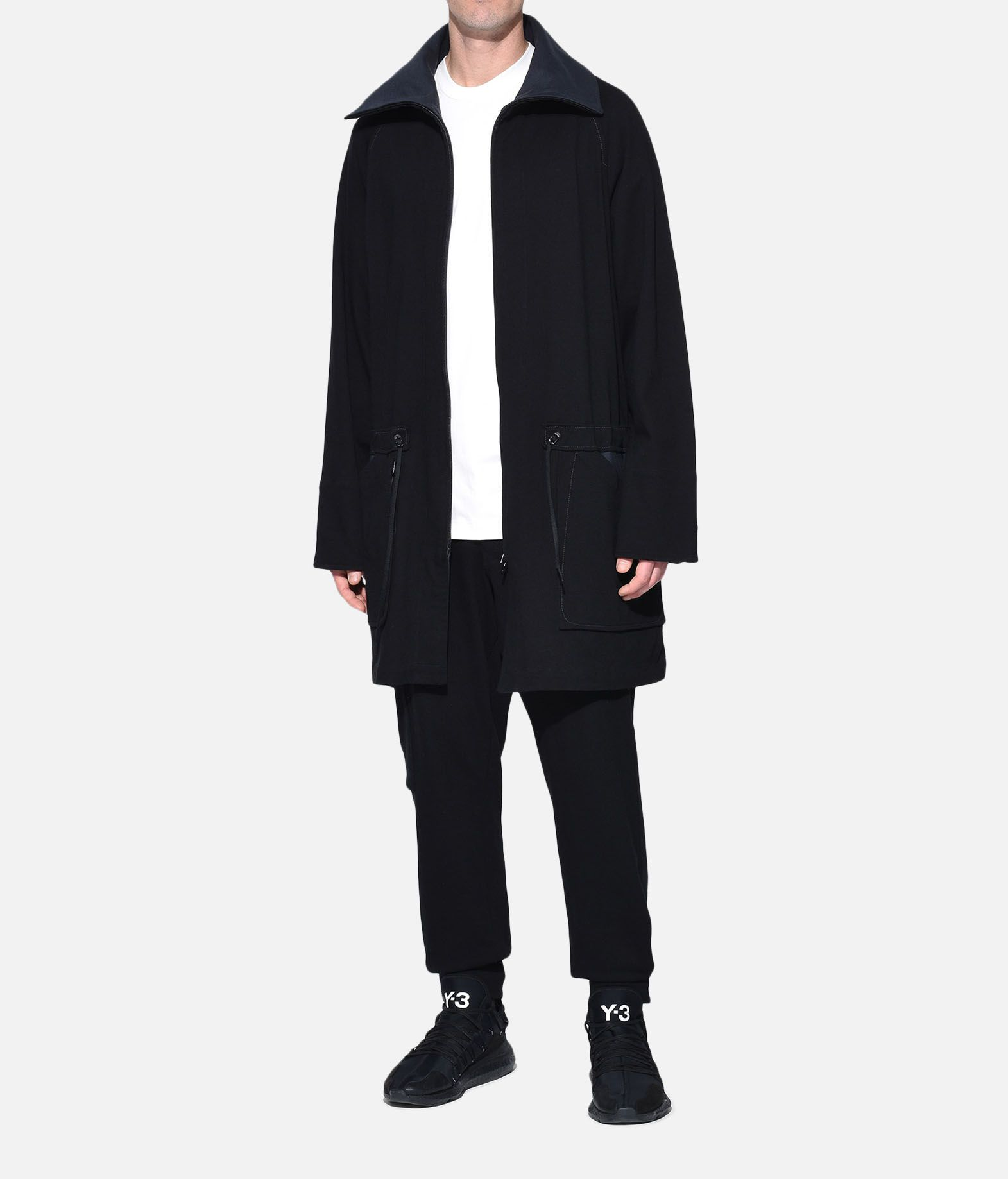 Y-3 Y-3 Long Utility Sweater Zipped jumper Man a