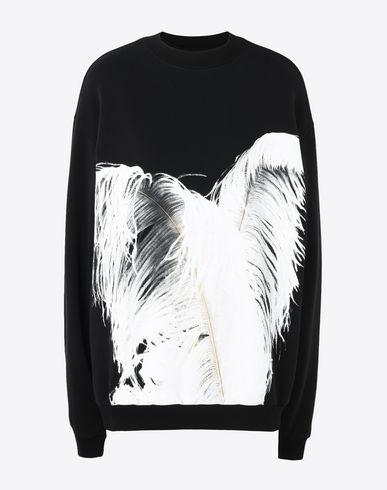 MAISON MARGIELA Sweatshirt Woman Plume print sweatshirt f