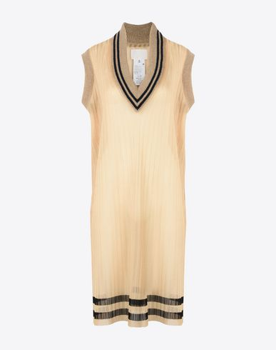 MAISON MARGIELA Sleeveless sweater D Sleeveless cricket sweater f