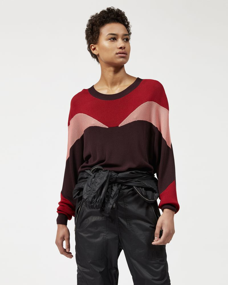 LEAVITT three color sweater ISABEL MARANT