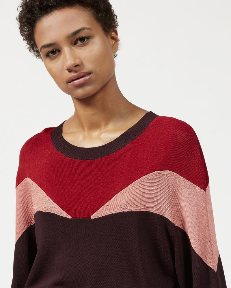 LEAVITT three colour jumper ISABEL MARANT
