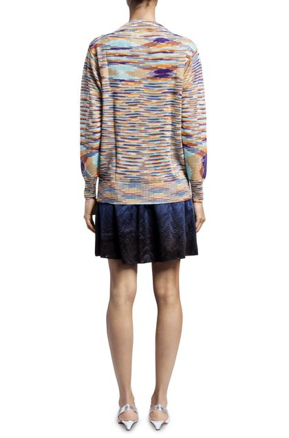 MISSONI Sweater Sky blue Woman - Front