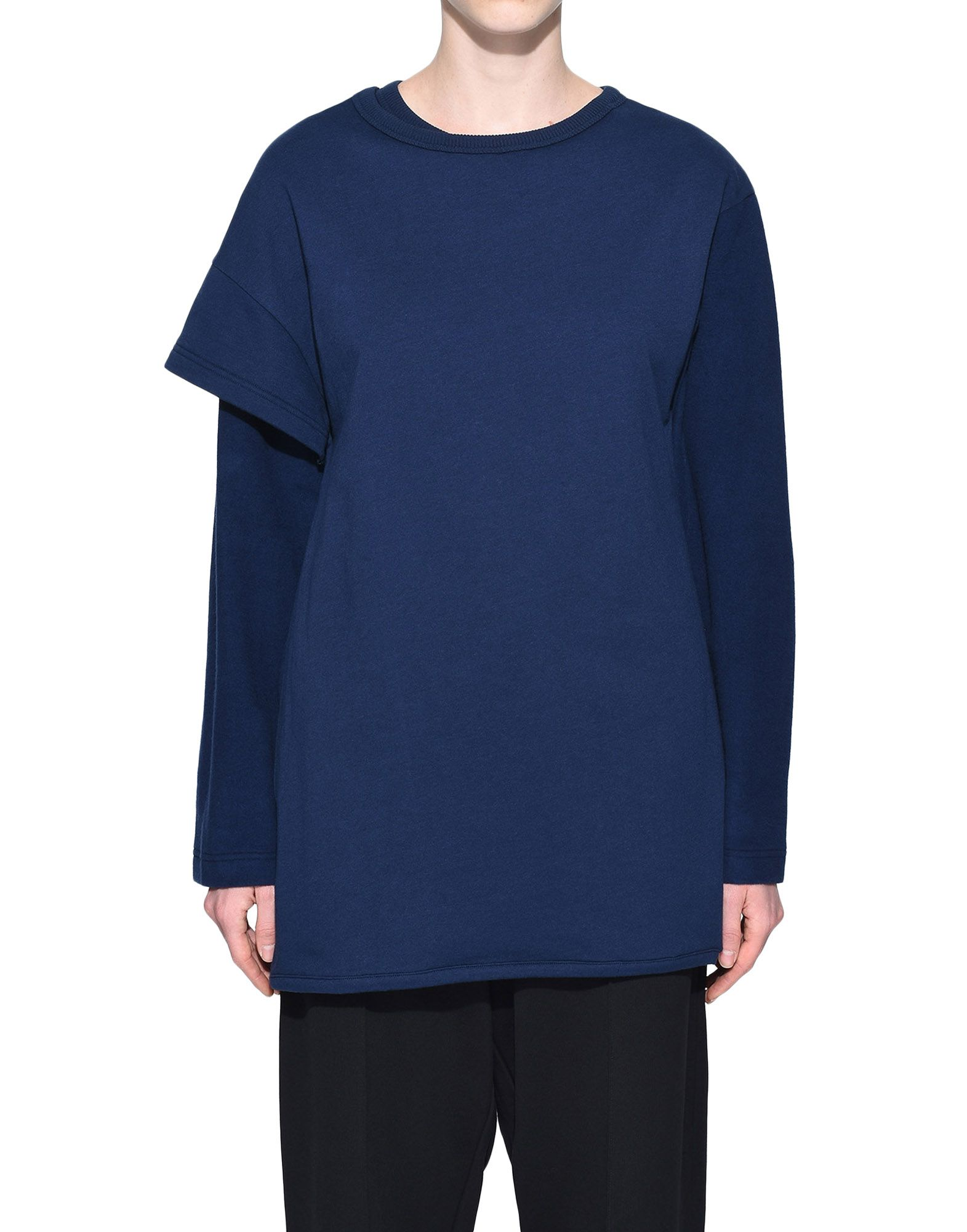 Y-3 Y-3 Two-Layer Fleece Sweater Sweatshirt Woman r