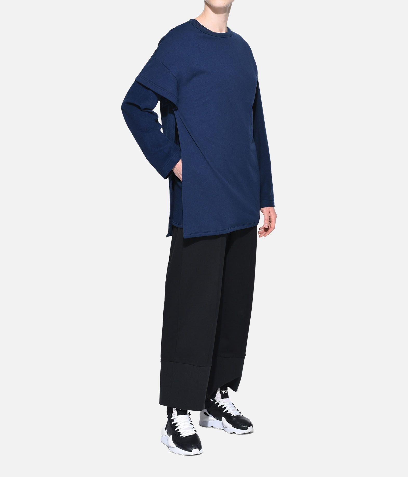 Y-3 Y-3 Two-Layer Fleece Sweater Felpa Donna a