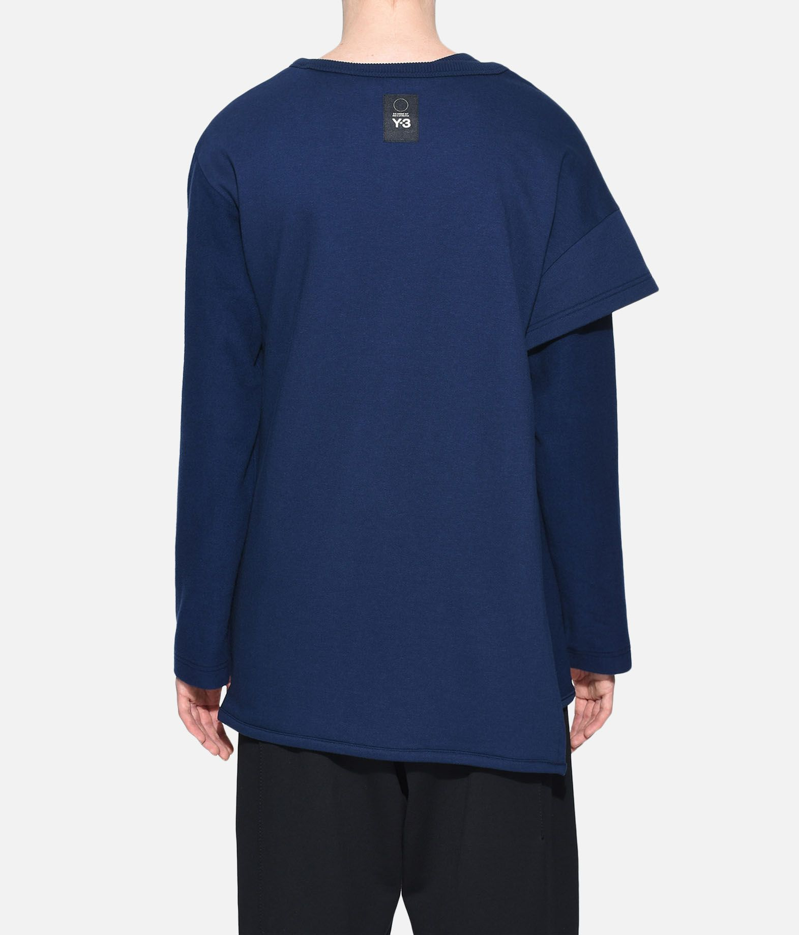 Y-3 Y-3 Two-Layer Fleece Sweater Felpa Donna d