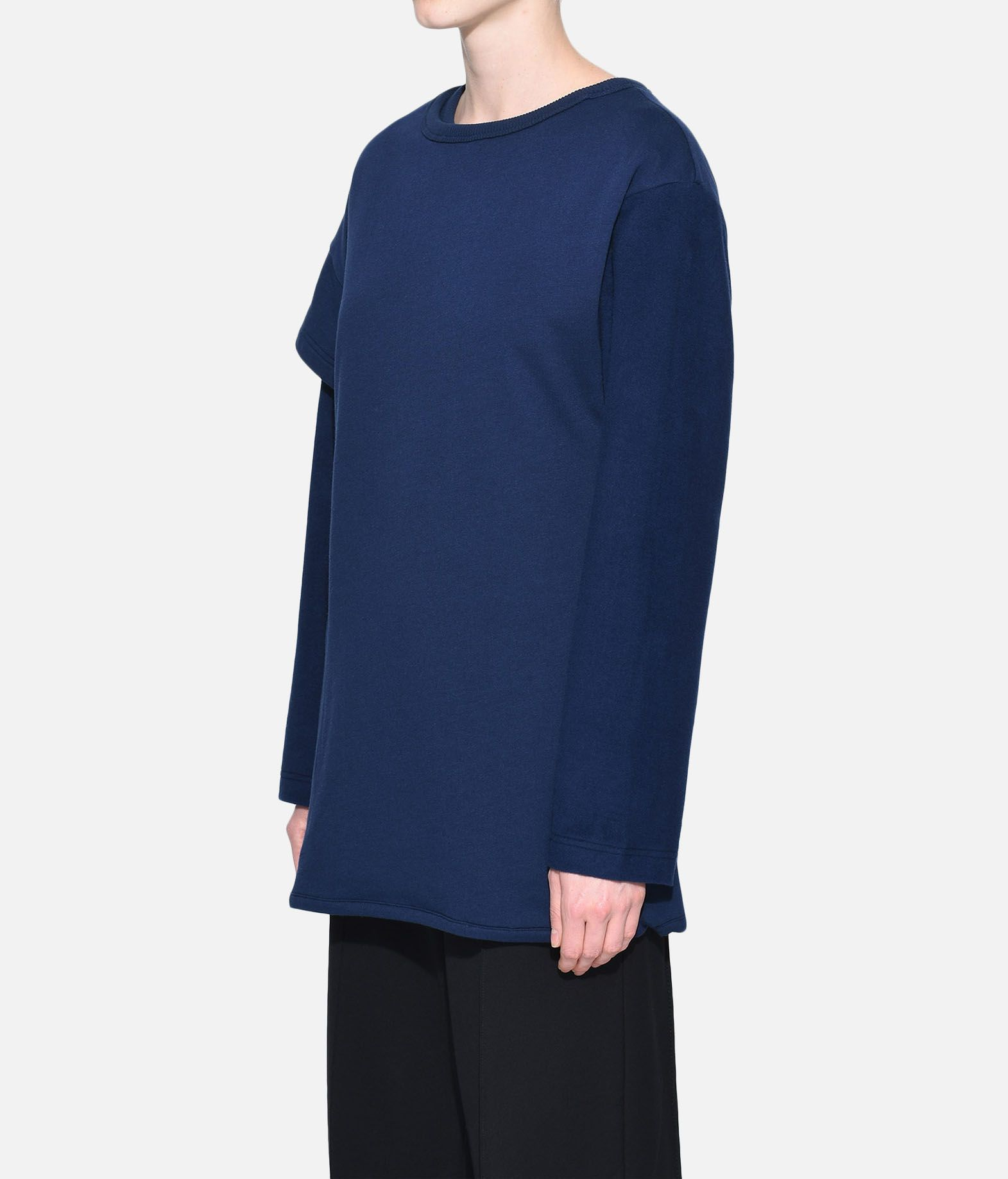Y-3 Y-3 Two-Layer Fleece Sweater Felpa Donna e