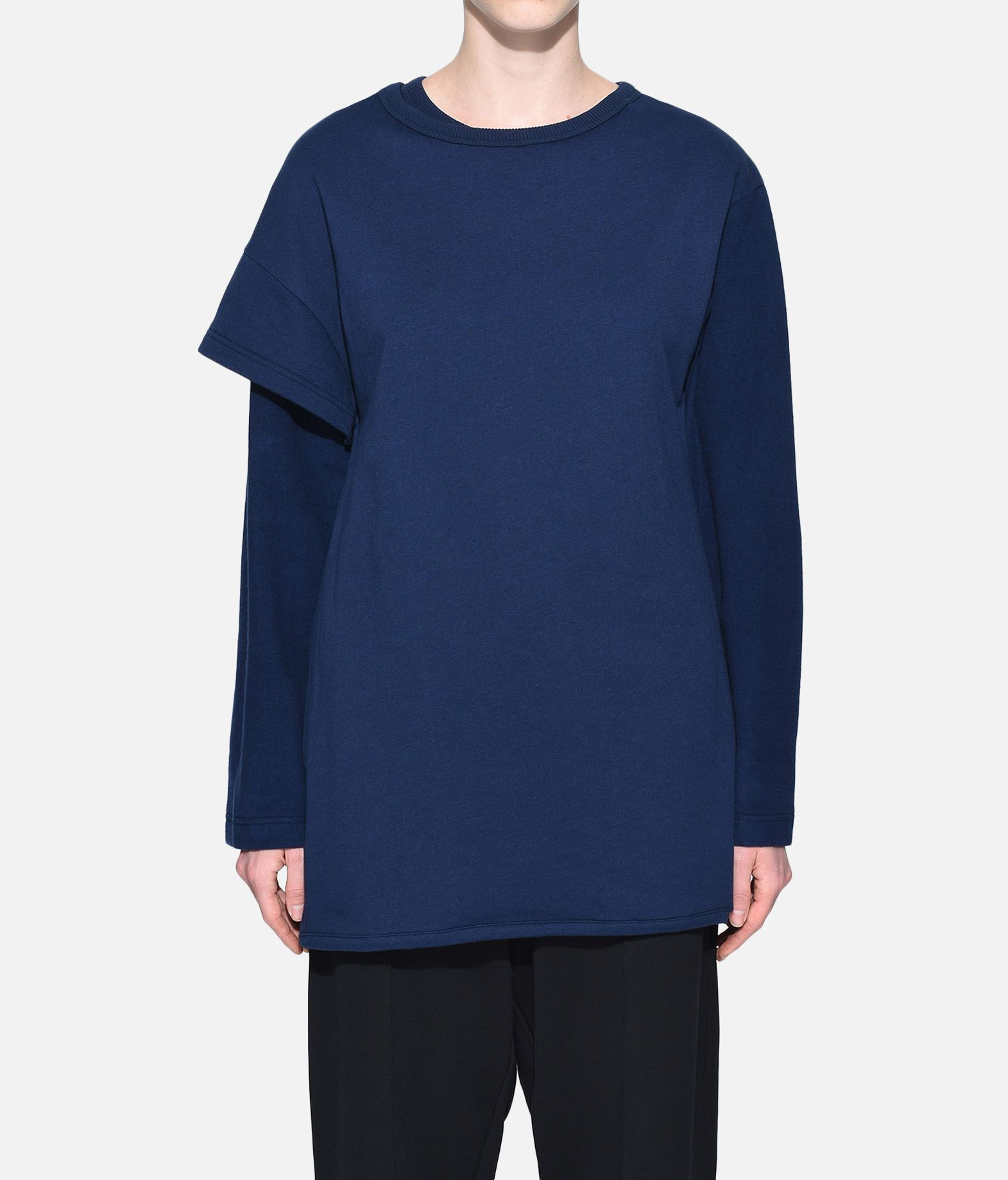 Y-3 Y-3 Two-Layer Fleece Sweater Felpa Donna r