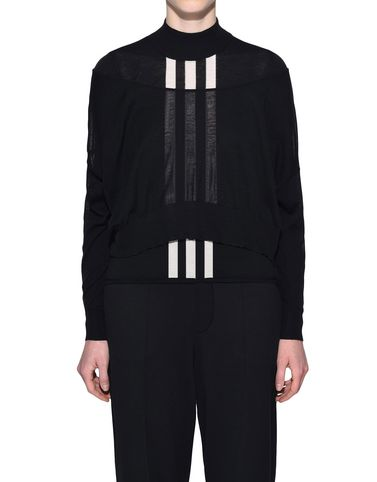 Y-3 長袖ニット レディース Y-3 Layered Knitted Cropped Sweater r