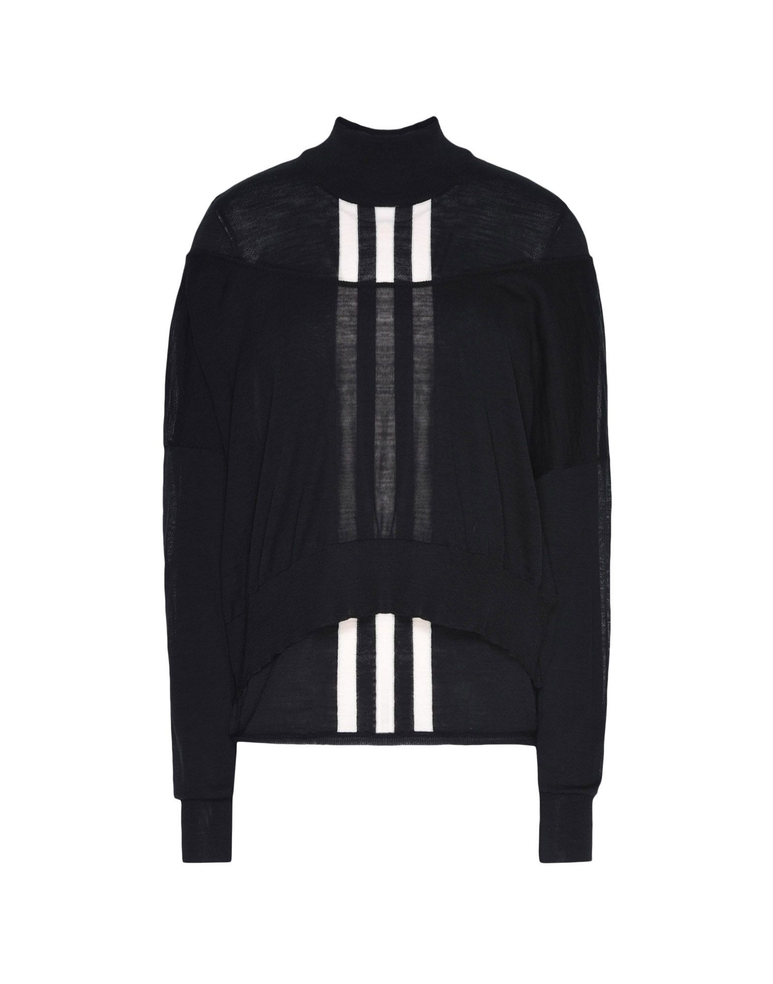 Y-3 Y-3 Layered Knitted Cropped Sweater Long sleeve jumper Woman f