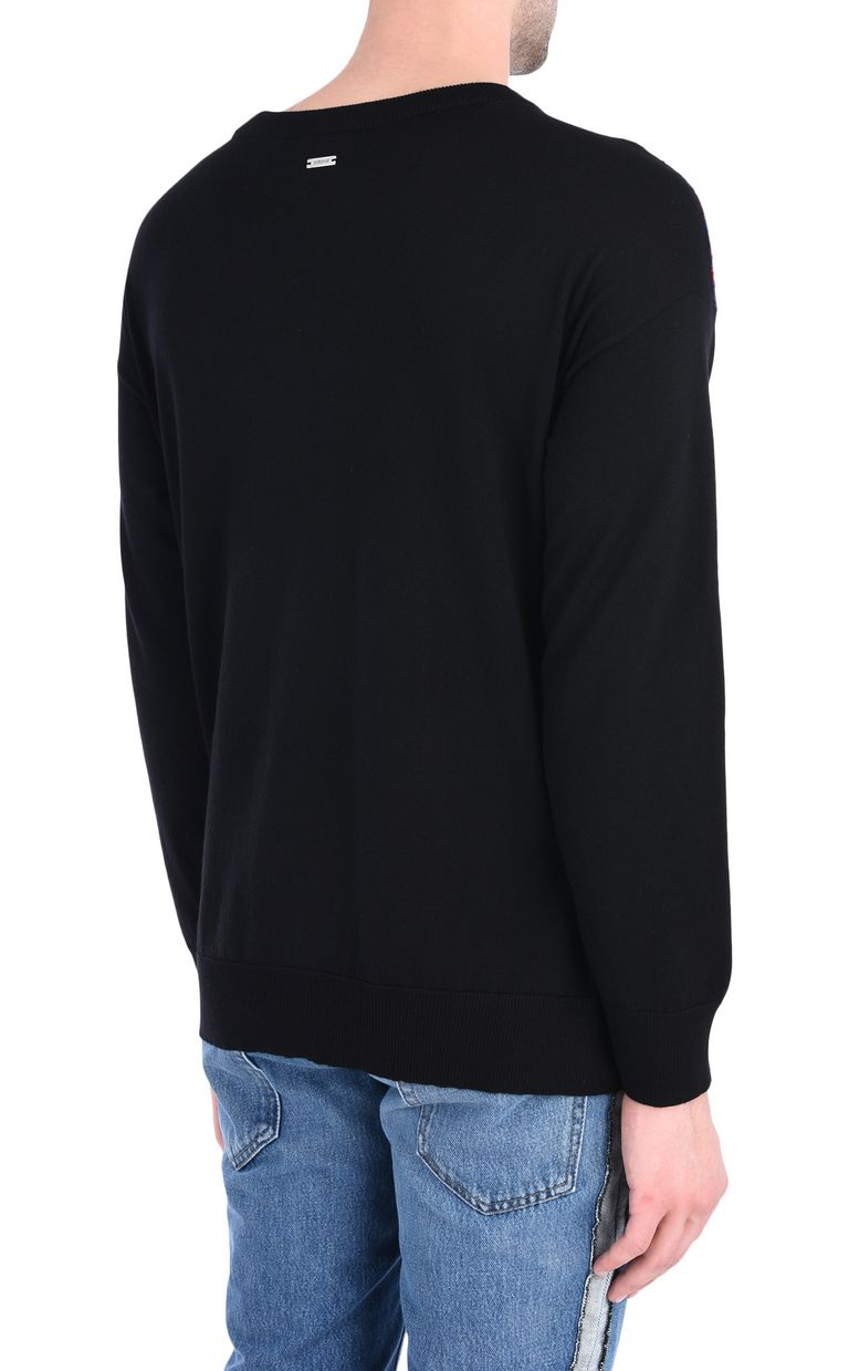 JUST CAVALLI Long-sleeve crew-neck pullover Crewneck sweater Man d