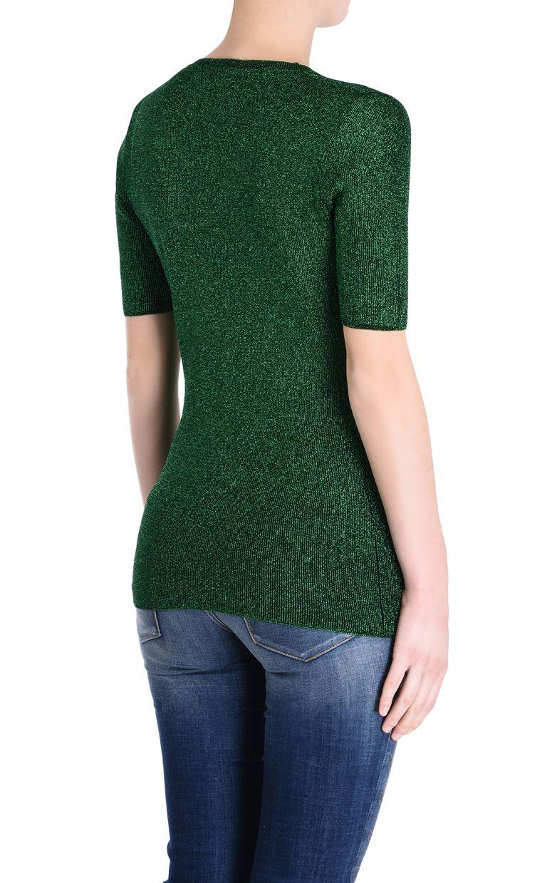 JUST CAVALLI Lurex T-shirt Short sleeve sweater [*** pickupInStoreShipping_info ***] d
