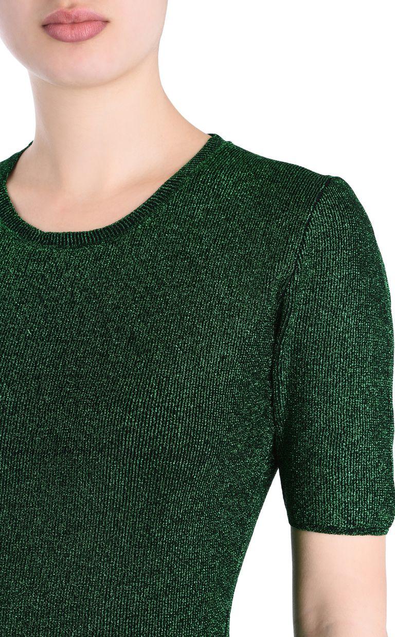 JUST CAVALLI Lurex T-shirt Short sleeve sweater [*** pickupInStoreShipping_info ***] e