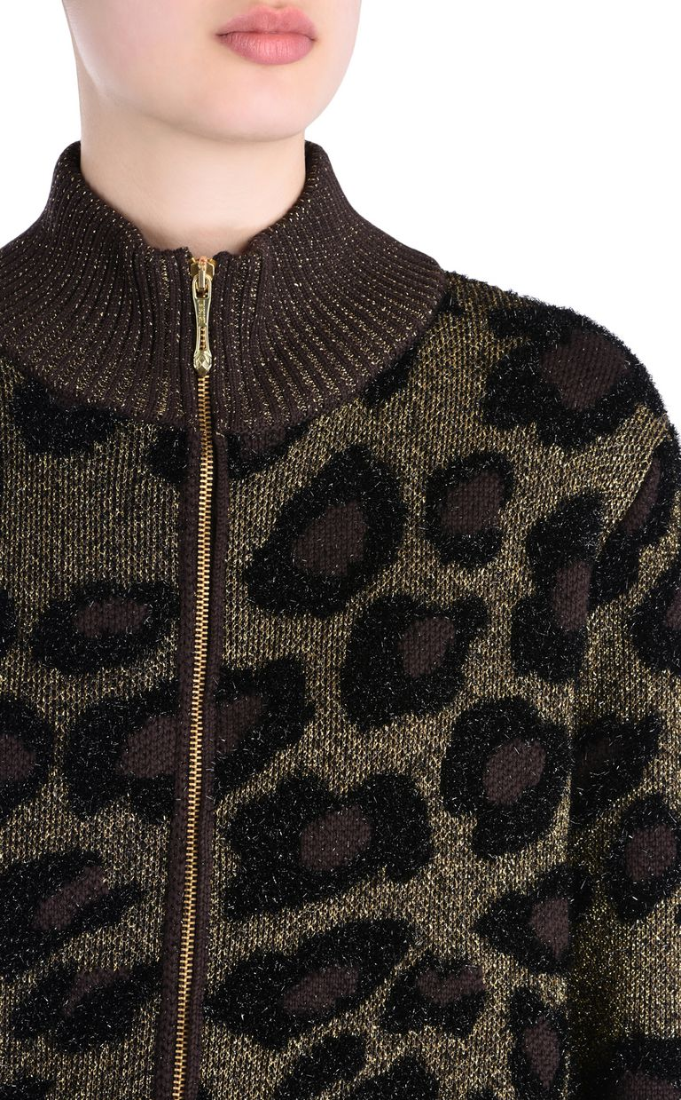 JUST CAVALLI High-neck cardigan Cardigan [*** pickupInStoreShipping_info ***] e