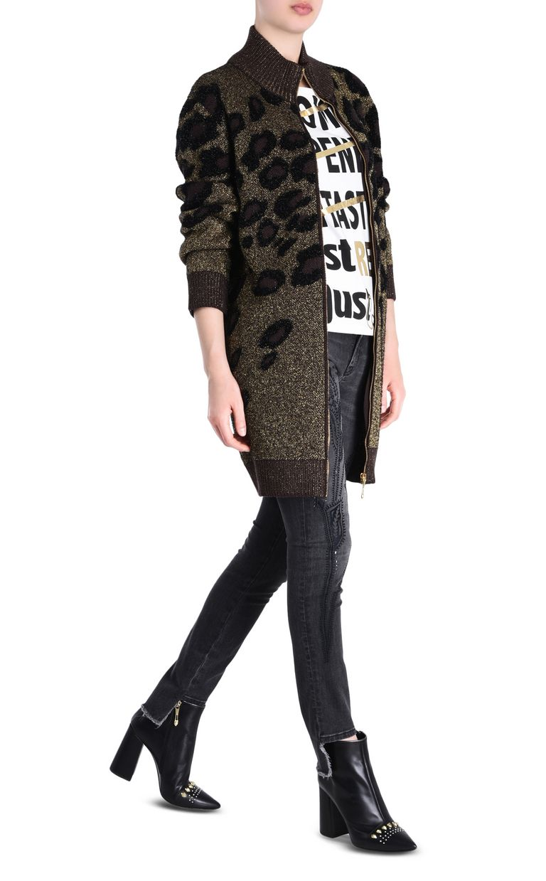 JUST CAVALLI High-neck cardigan Cardigan [*** pickupInStoreShipping_info ***] r
