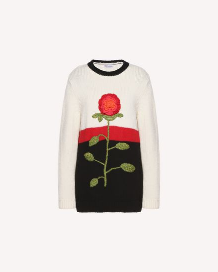REDValentino Knit Sweater Woman QR3KC1B93VR VH0 a
