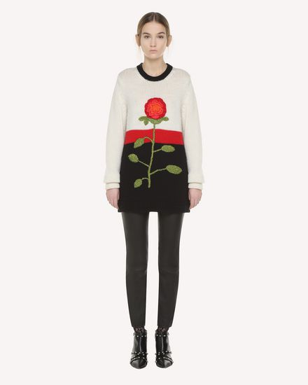 REDValentino Knit Sweater Woman QR3KC1B93VR VH0 f