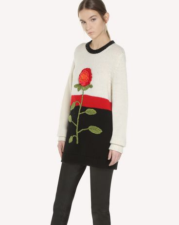 REDValentino QR3KC1B93VR VH0 Knit Sweater Woman d