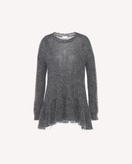 REDValentino Knit Sweater Woman QR3KC08U3Y1 954 a