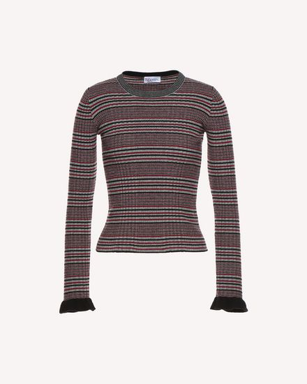 REDValentino Knit Sweater Woman QR3KC1A43Y5 GN0 a