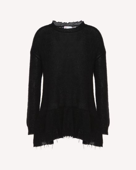 REDValentino Knit Sweater Woman QR3KC1993VJ 0NO a