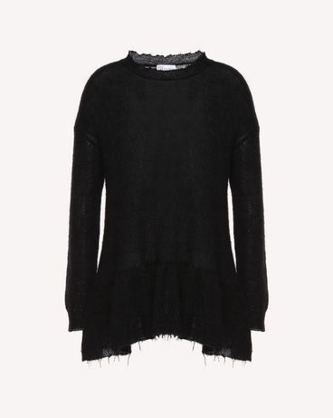 REDValentino QR3KC1993VJ 0NO Knit Sweater Woman a