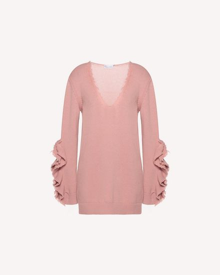REDValentino Knit Sweater Woman QR3KC1B73VQ R13 a