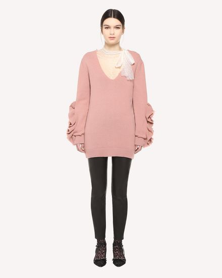 REDValentino Knit Sweater Woman QR3KC1B73VQ R13 f