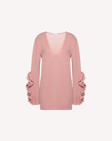 REDValentino QR3KC1B73VQ R13 Knit Sweater Woman a