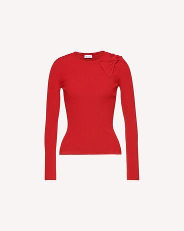 REDValentino QR3KC1B33Y6C61 Knit Sweater Woman a