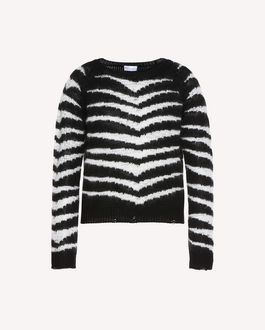 REDValentino Knit Sweater Woman QR3KC1B13WQ 0NO a