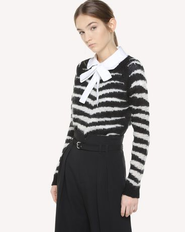 REDValentino QR3KC08Y3Y2 0NA Knit Sweater Woman d