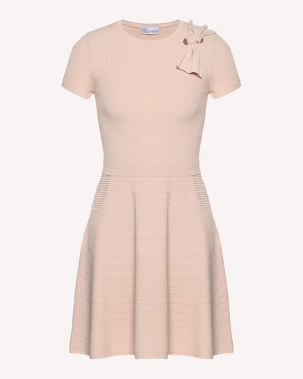 REDValentino Knit Dress Woman QR3KD0Y33Y6 377 a