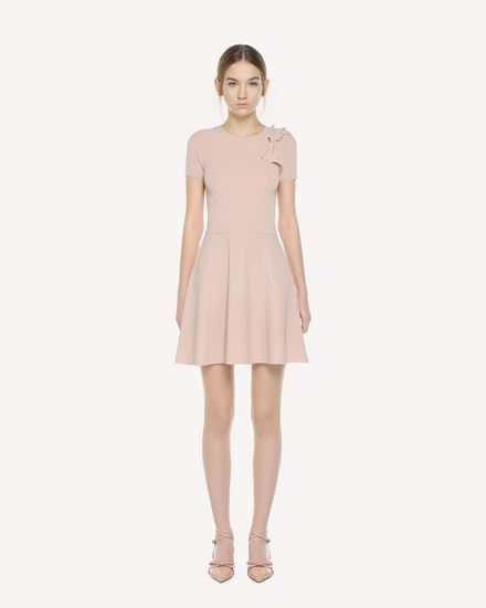 REDValentino Knit Dress Woman QR3KD0Y33Y6 377 f