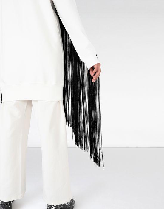MM6 MAISON MARGIELA Long cotton sweatshirt Sweatshirt [*** pickupInStoreShipping_info ***] a